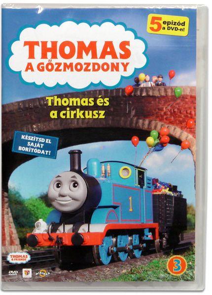 Thomas, a gőzmozdony: Thomas és a cirkusz (DVD)