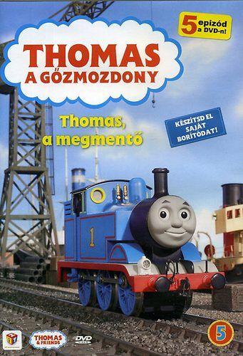 Thomas, a gőzmozdony: Thomas, a megmentő (DVD)