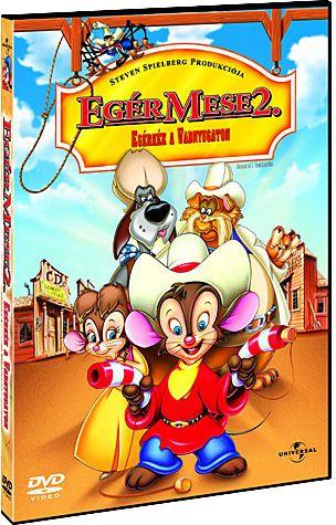 Egér Mese 2. - Egérkék a Vadnyugaton (DVD)