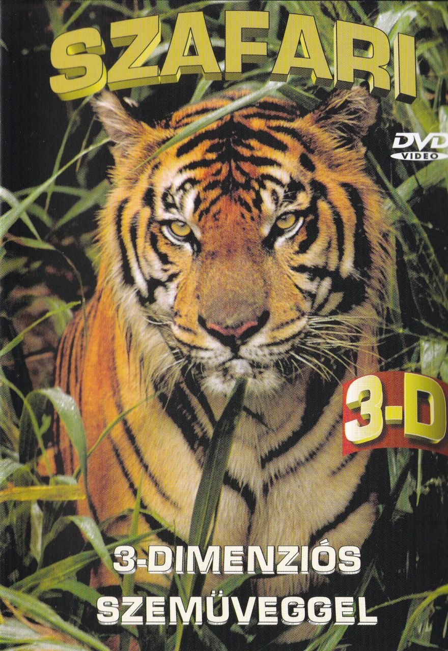 Szafari: 3-Dimenziós szemüveggel (DVD)