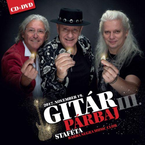 Gitárpárbaj III. - Staféta (CD+DVD)