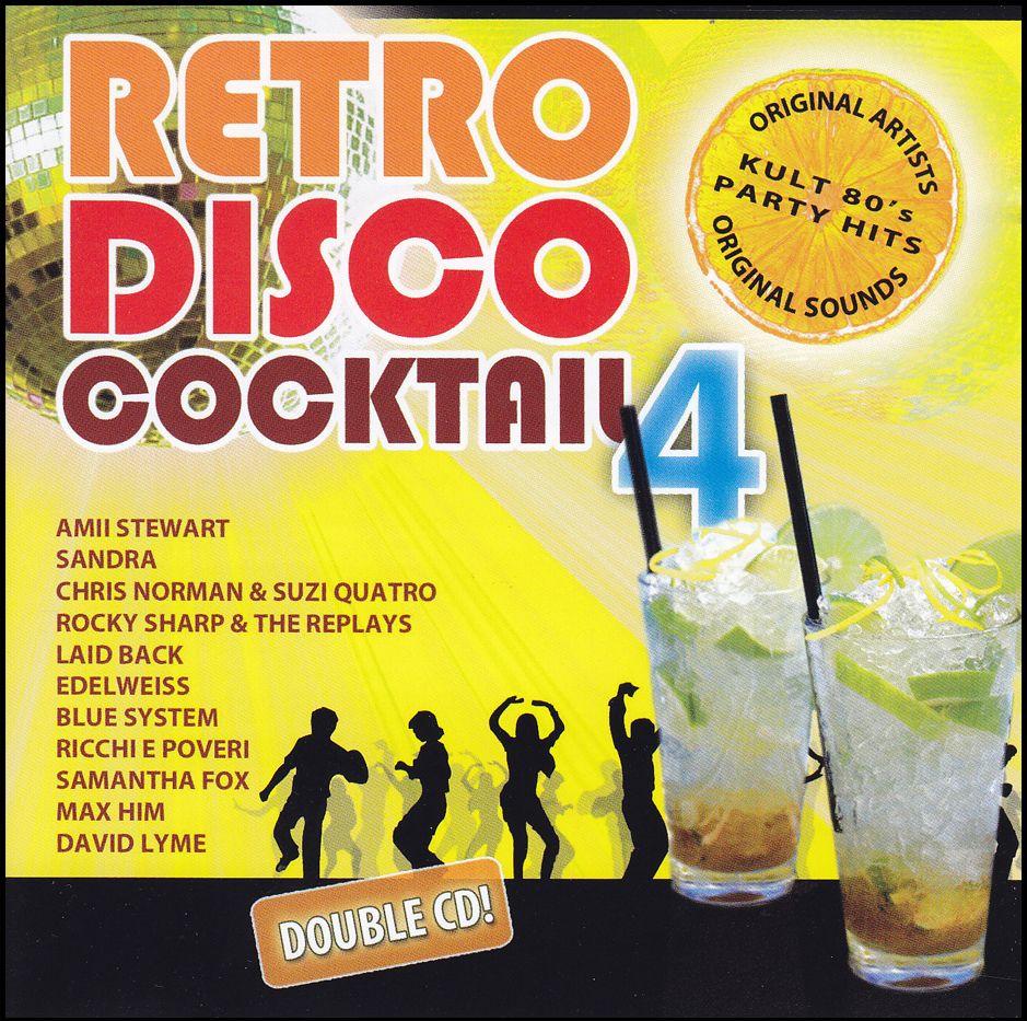 Retro Disco Cocktail 4. (CD)
