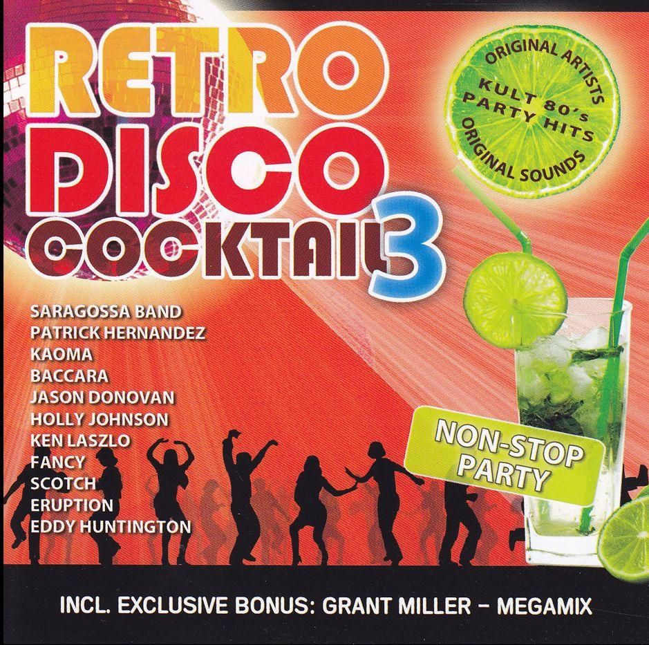Retro Disco Cocktail 3. (CD)