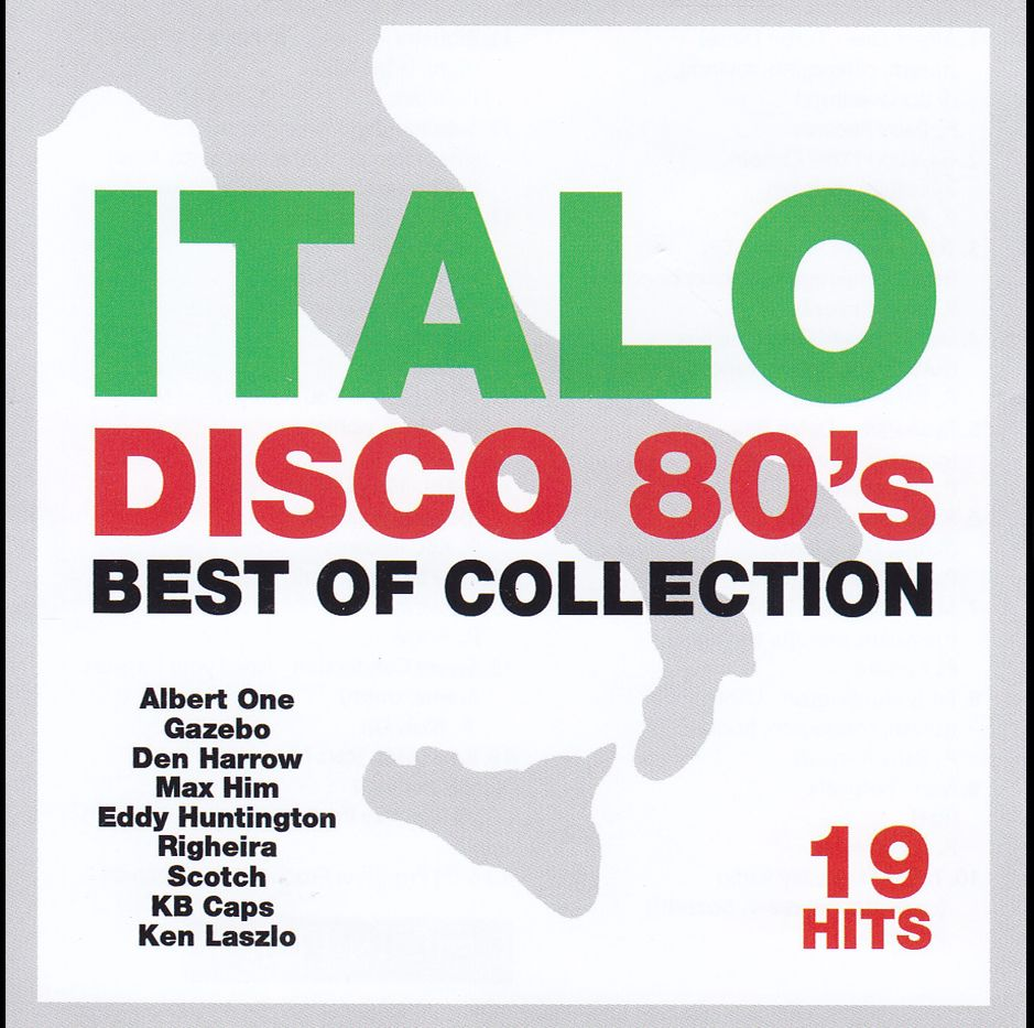 Italo Disco 80's Best Of Collection (CD)