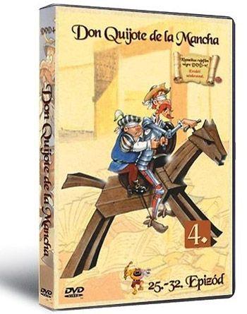 Don Quijote de la Mancha 4. (DVD)