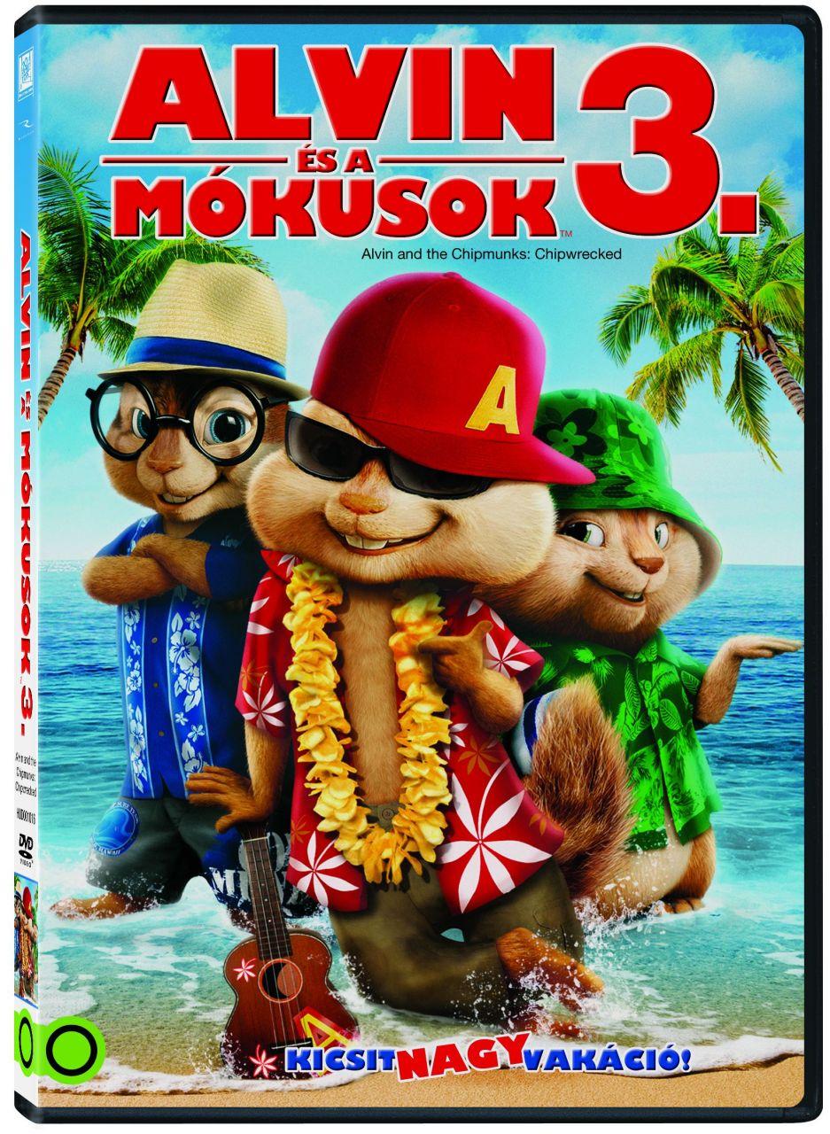 Alvin és a mókusok 3. (DVD)