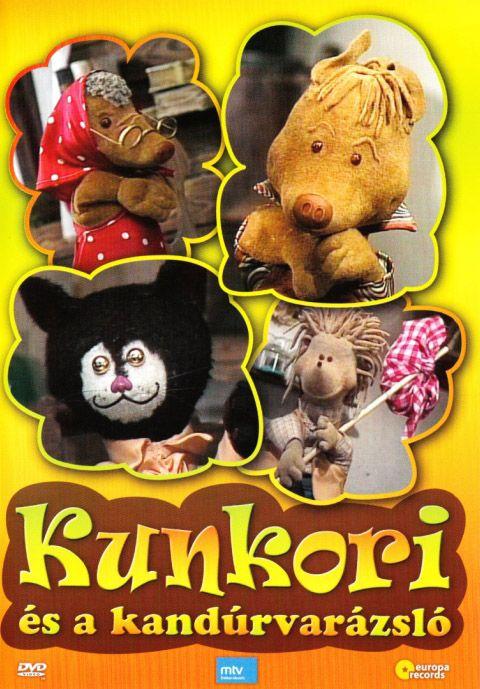 Kunkori és a kandúrvarázsló (DVD)