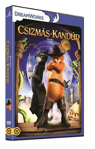 Csizmás a Kandúr (DVD)