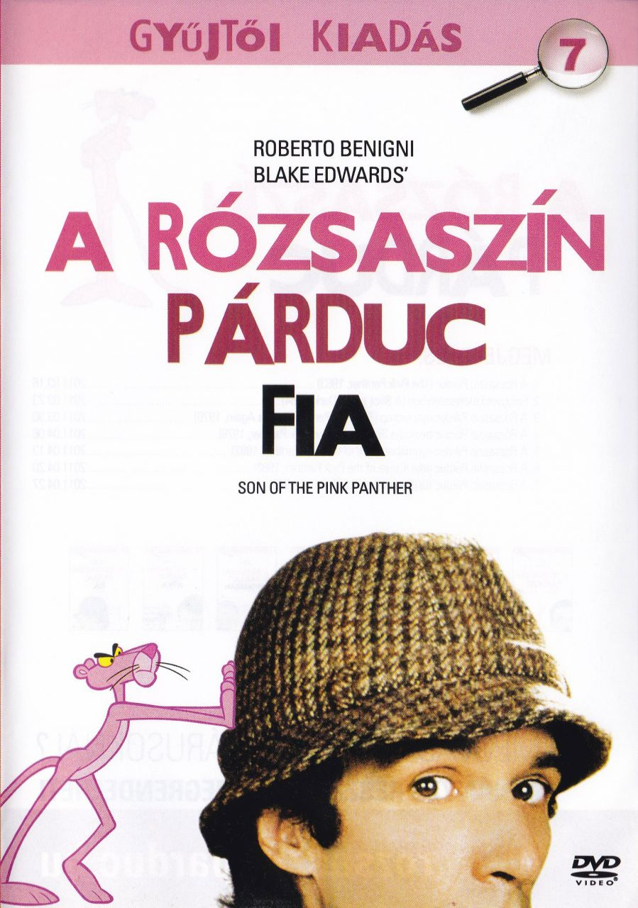 A Rózsaszín párduc fia 7. - Gyűjtői kiadás (DVD)