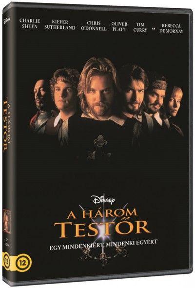 A három testőr (DVD)
