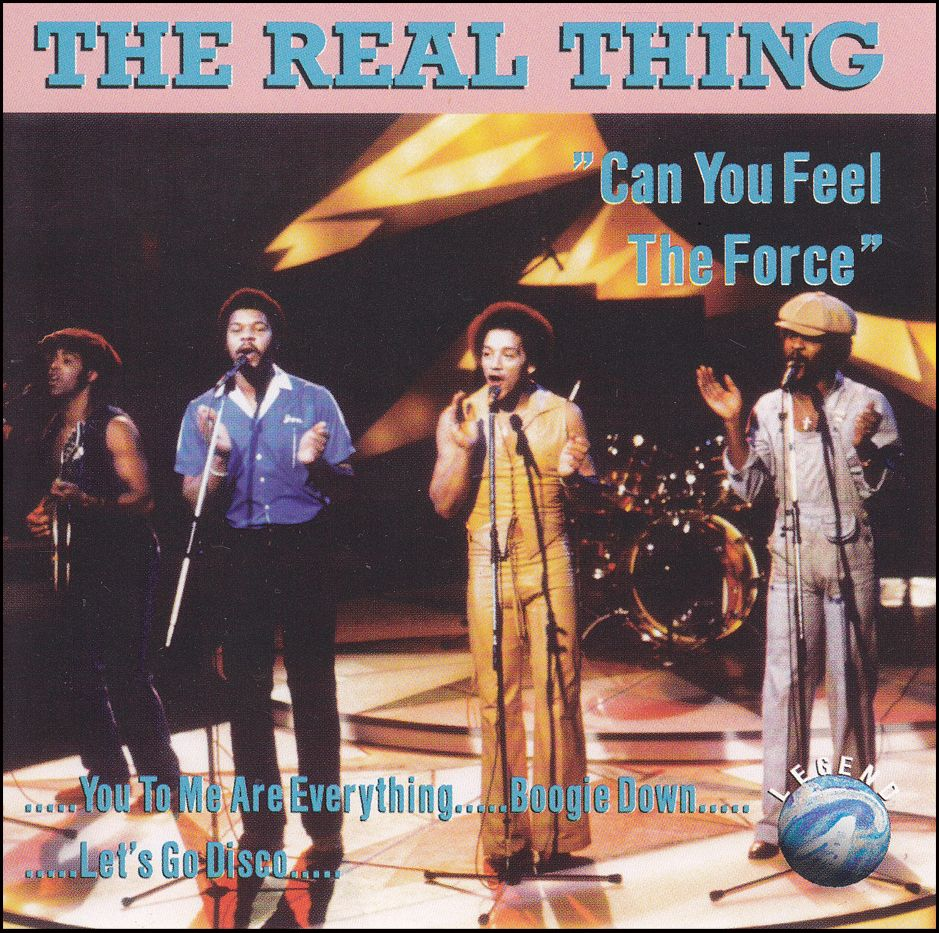 The Real Thing: Can You Feel The Force (CD)