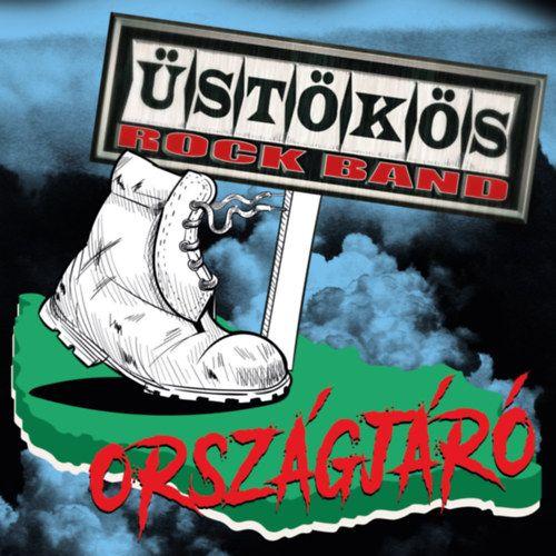 Üstökös Rock Band: Országjáró (CD)