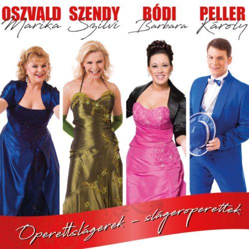 Operettslágerek – Oszvald – Szendy – Bódi - Peller (CD)