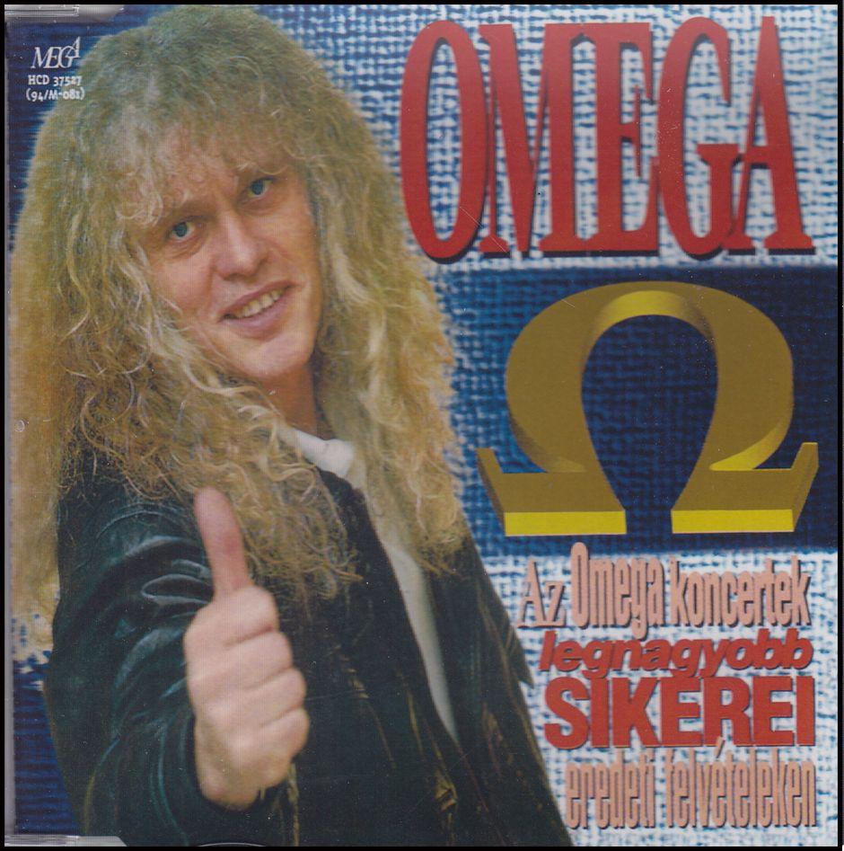 Omega koncertek legnagyobb sikerei eredeti felvételeken 1962-1994 (CD)
