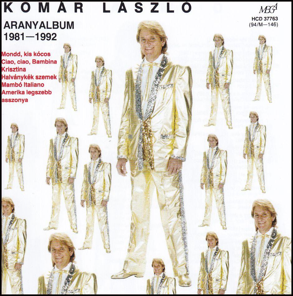 Komár László: Aranyalbum (CD)