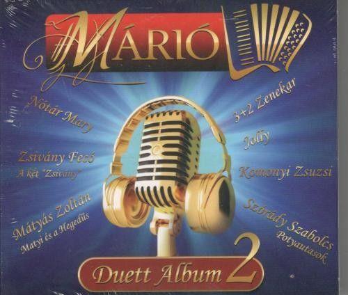 Márió: Duett album2. (CD)