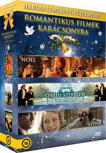 Romantikus filmek karácsonyra: Noel – Szelíd szerelem – Sylvia 3 DVD (DVD)