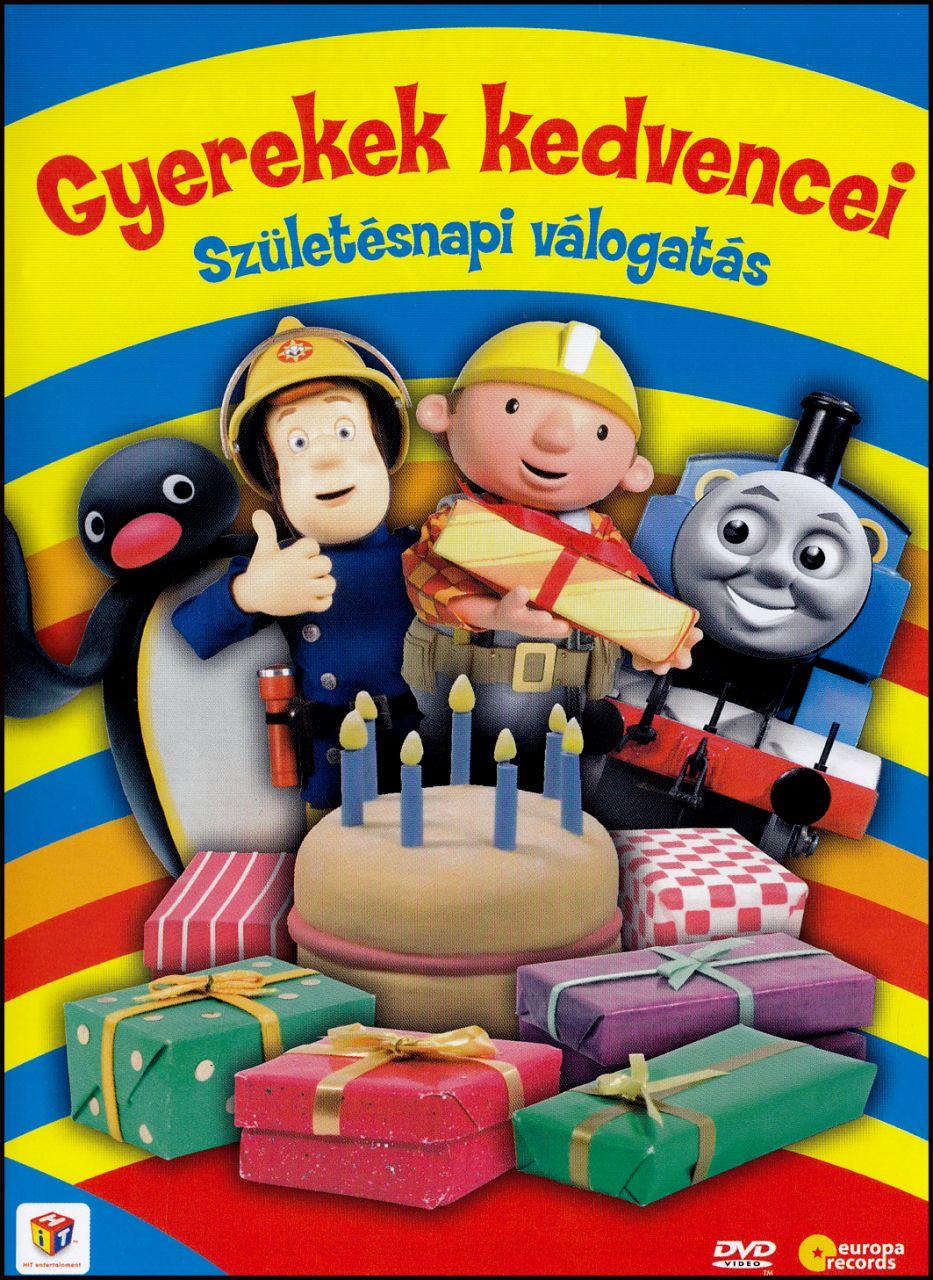 Gyerekek kedvencei: Születésnapi válogatás (DVD)