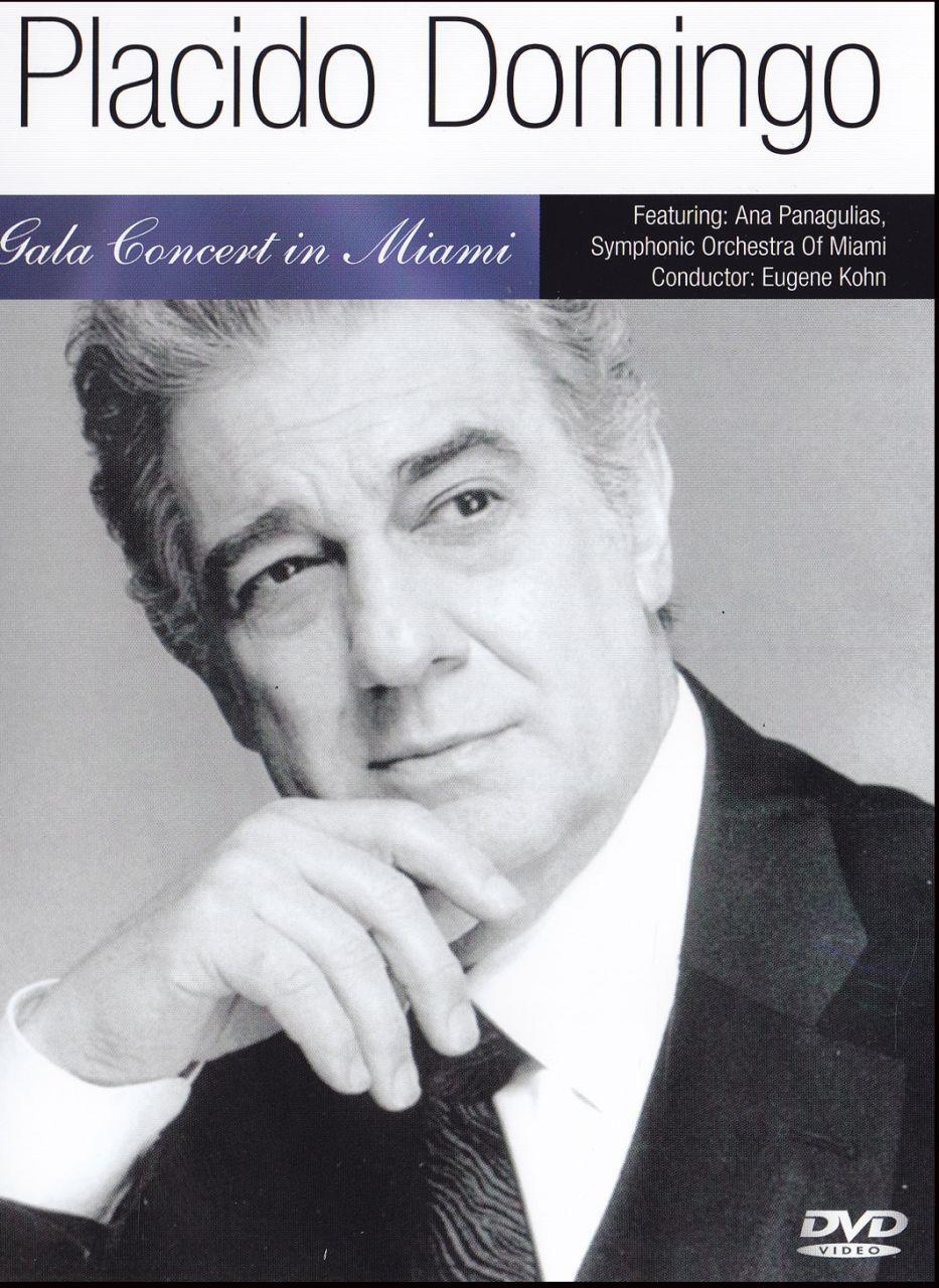 Placido Domingo: Gala concert in Miami (DVD)