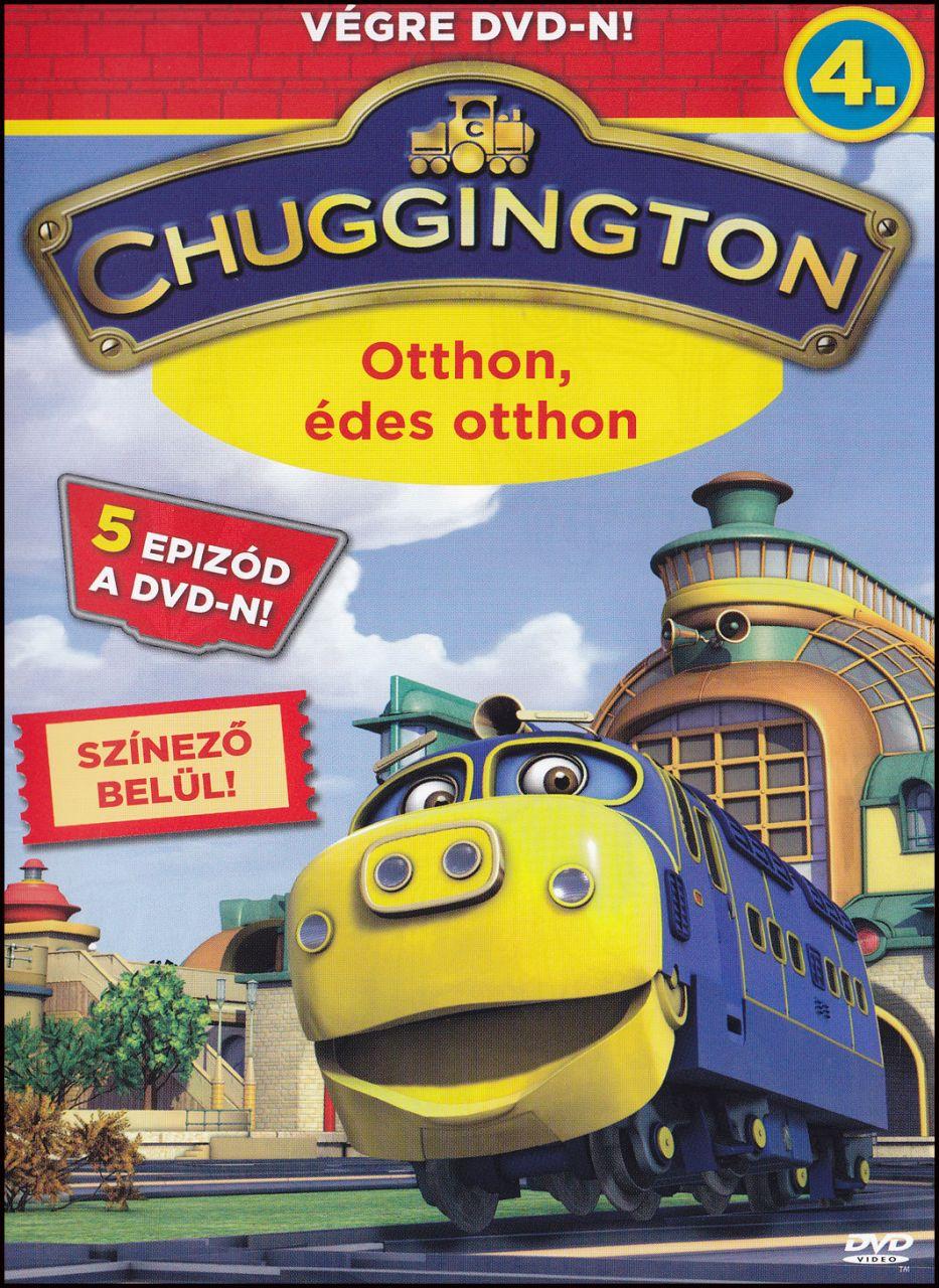 Chuggington Otthon édes otthon (DVD)