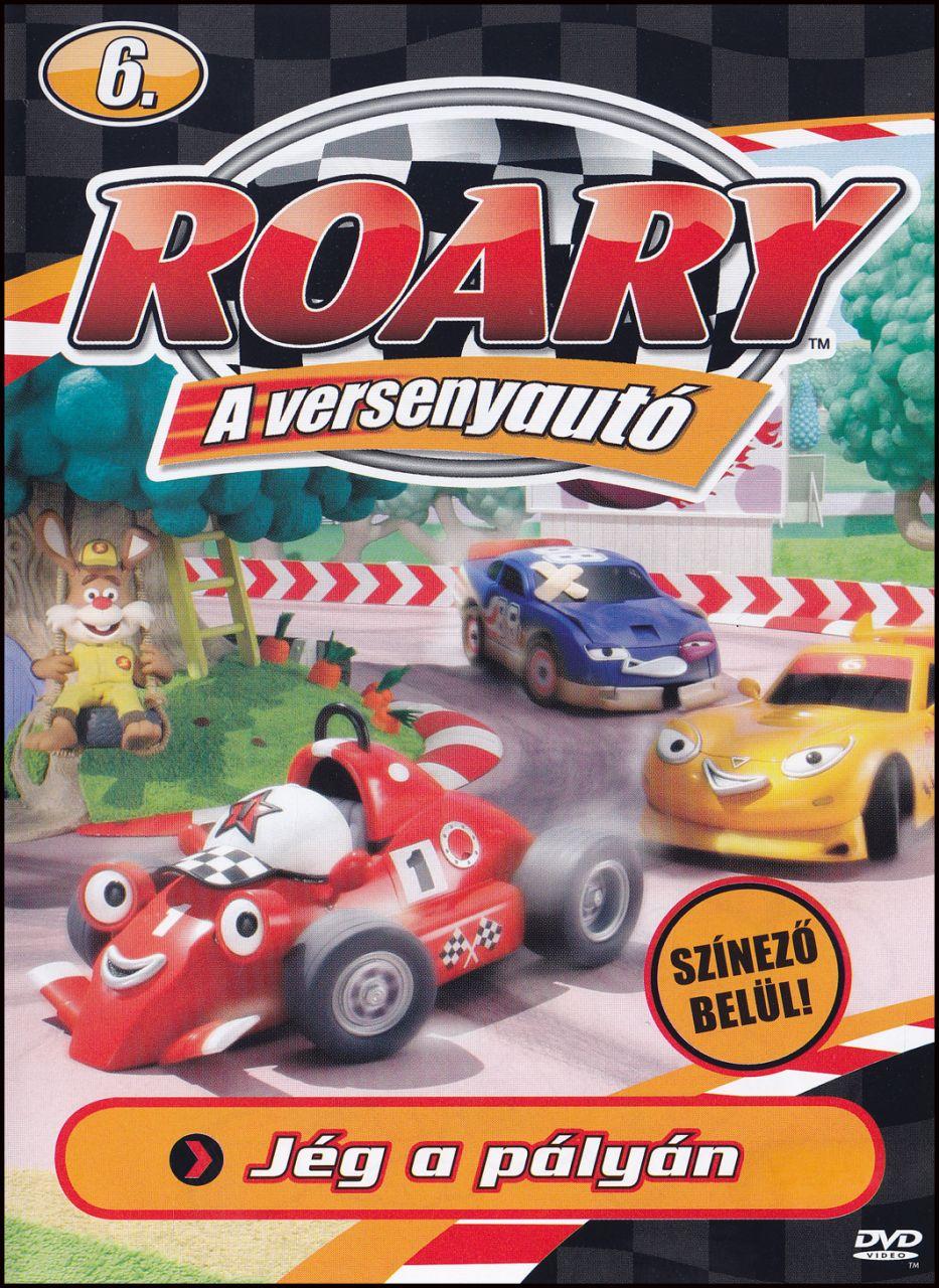 Roary a versenyautó Jég a pályán 6. (DVD)