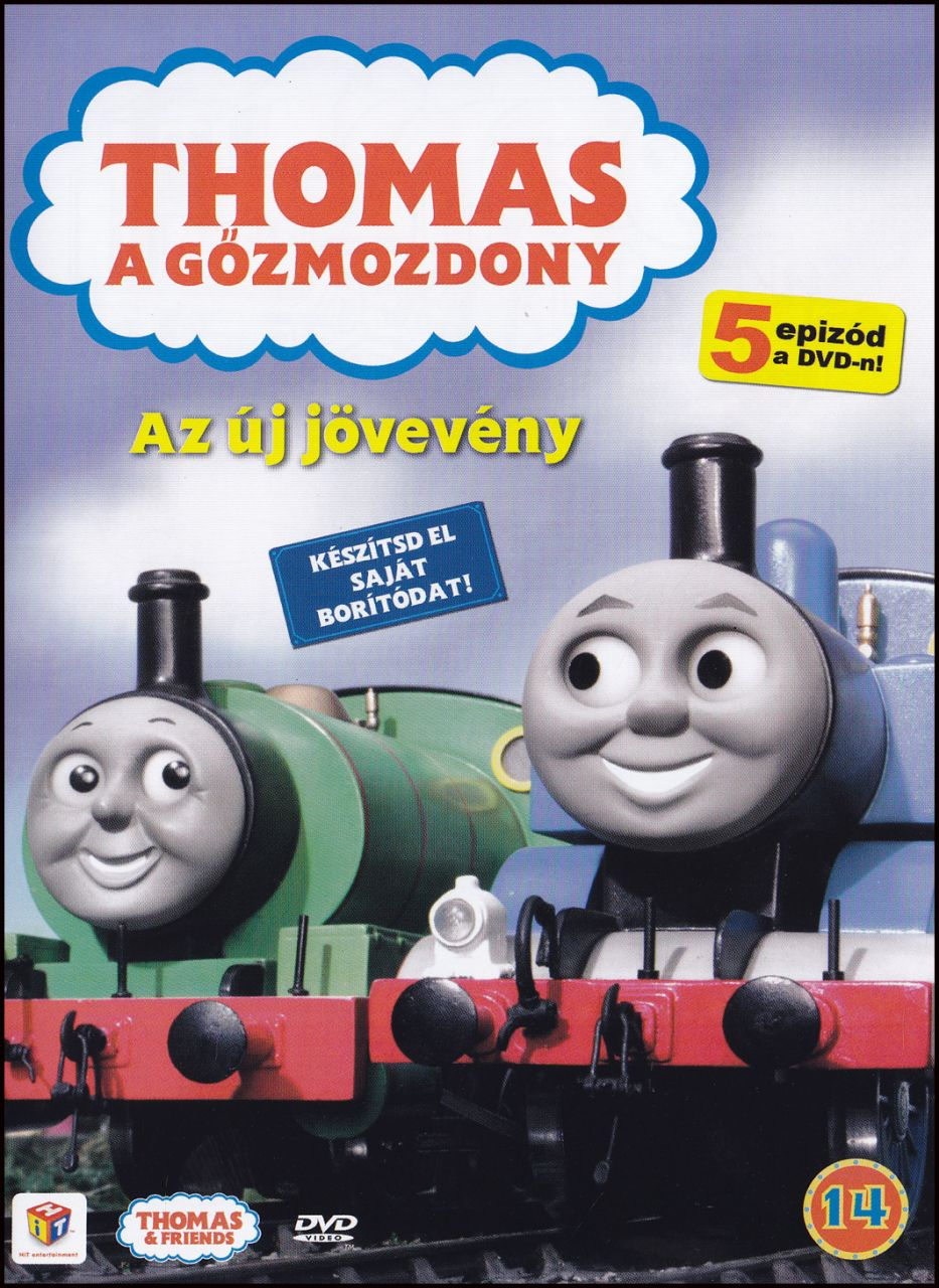 Thomas a gőzmozdony Az új jövevény (DVD)