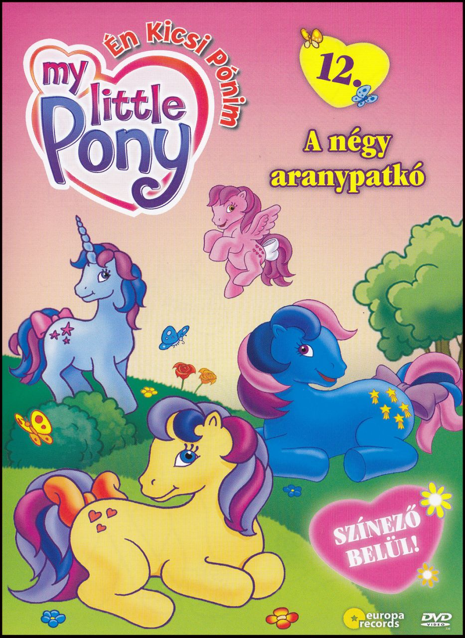 My little Pony A négy aranypatkó 12. (DVD)