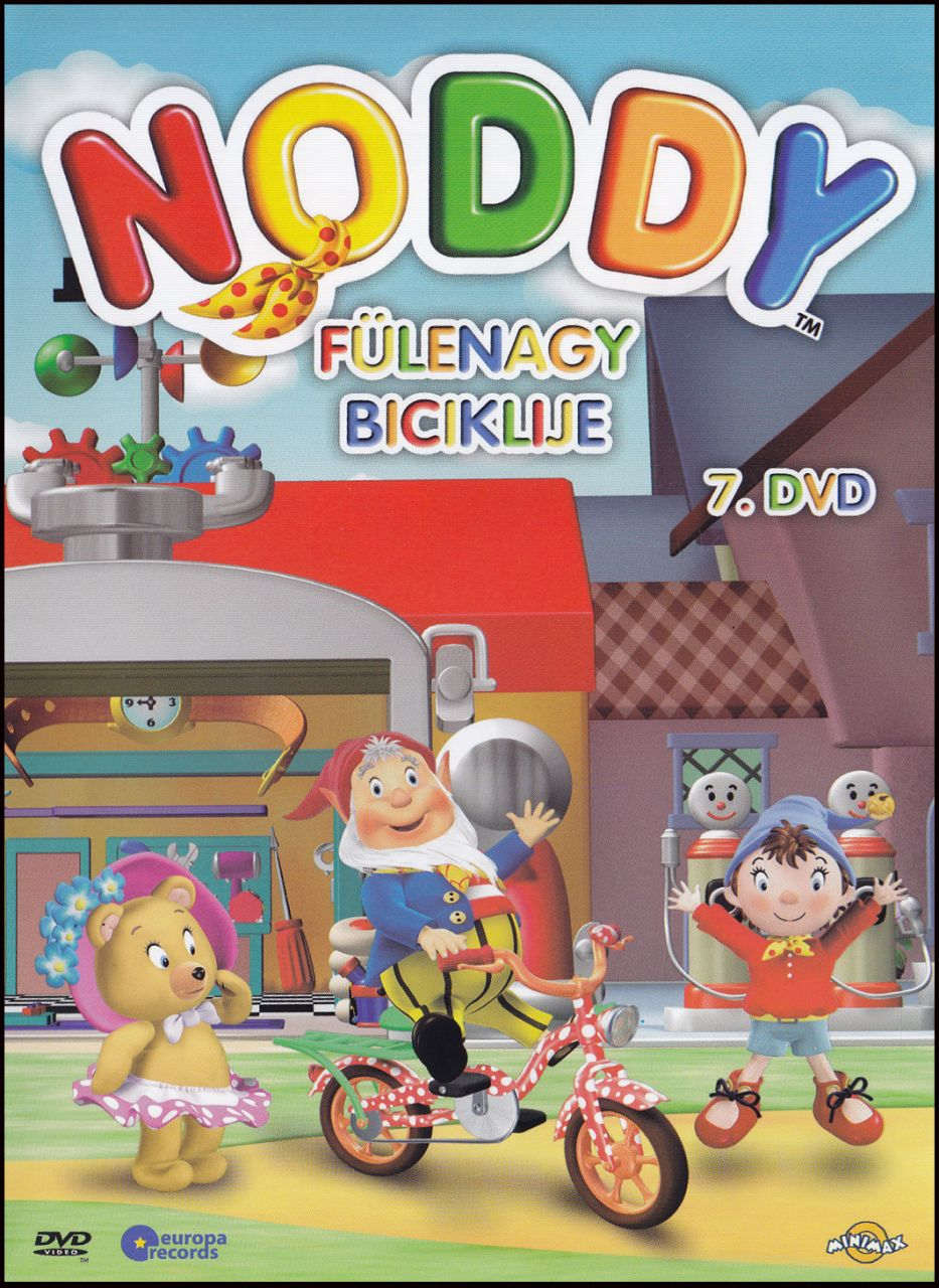 Noddy Fülenagy biciklije 7. (DVD)