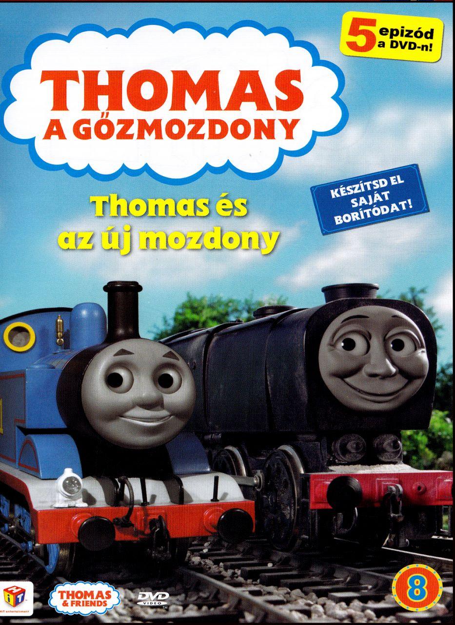 Thomas a gőzmozdony: Thomas és az új mozdony 8. (DVD)