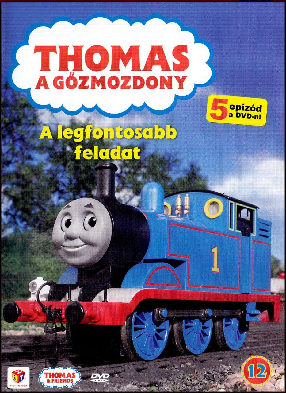 Thomas a gőzmozdony: A legfontosabb feladat 12. (DVD)