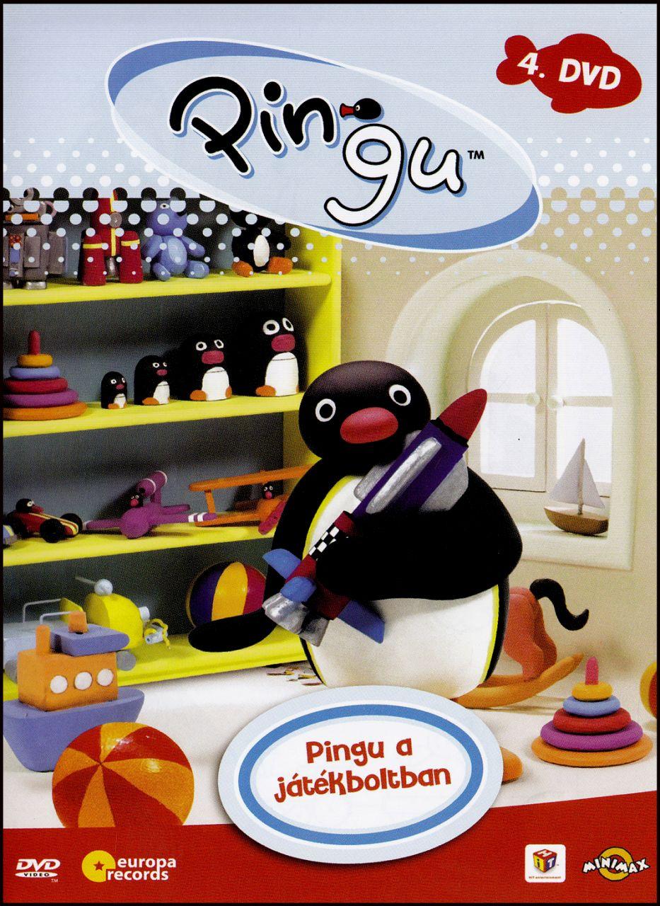 Pingu: Pingu a játékboltban 4. (DVD)