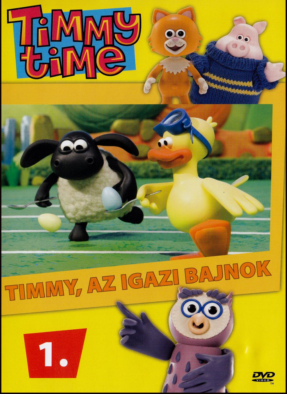 Timmy time 1. (DVD)
