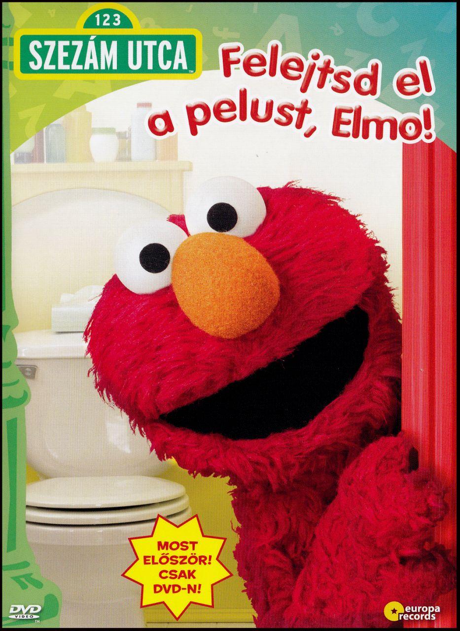 Szezám utca: Felejtsd el a pelust, Elmo! (DVD)