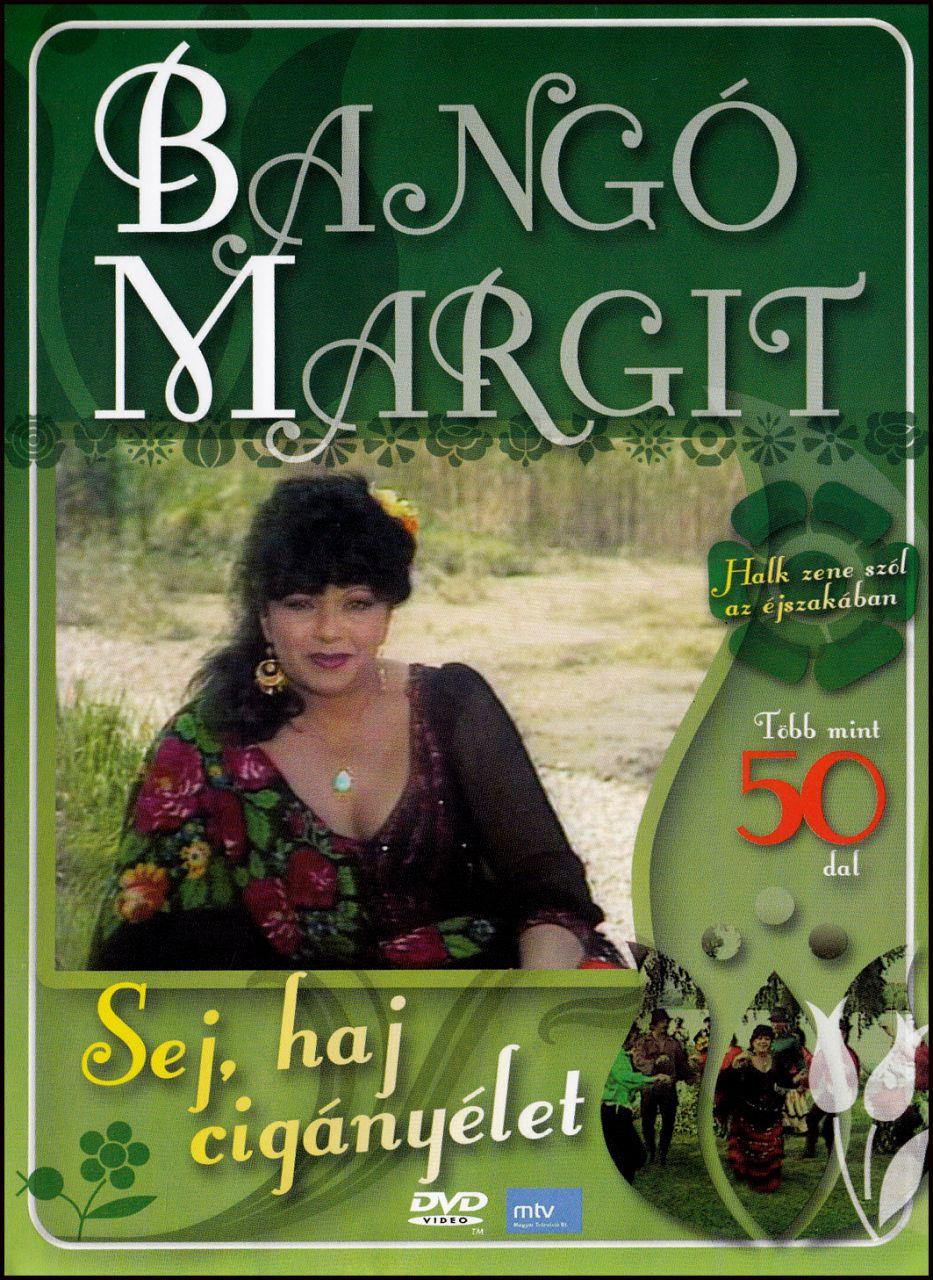 Bangó Margit Sej haj cigányélet (DVD)