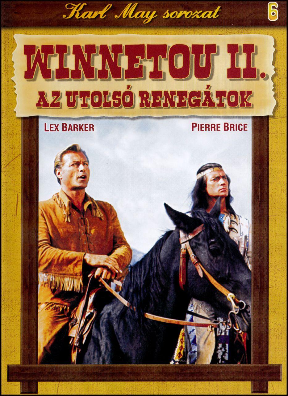 Karl May sorozat Winnetou II. Az utolsó renegátok 6. (DVD)