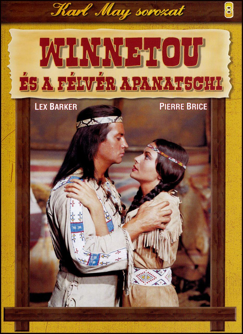 Karl May sorozat Winnetou és a félvér Apanatschi 8. (DVD)