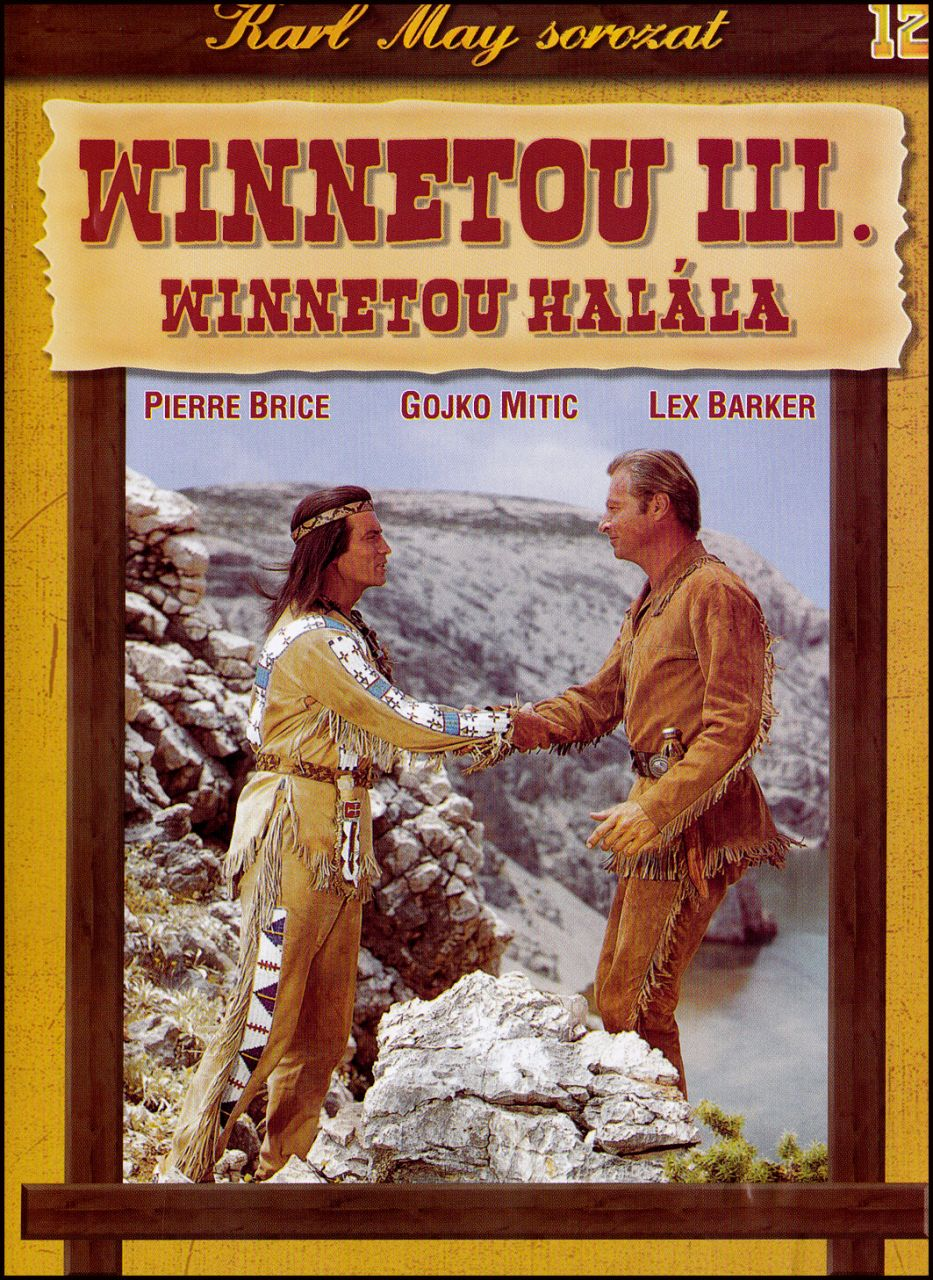 Karl May sorozat Winnetou III. Winnetou halála 12. (DVD)