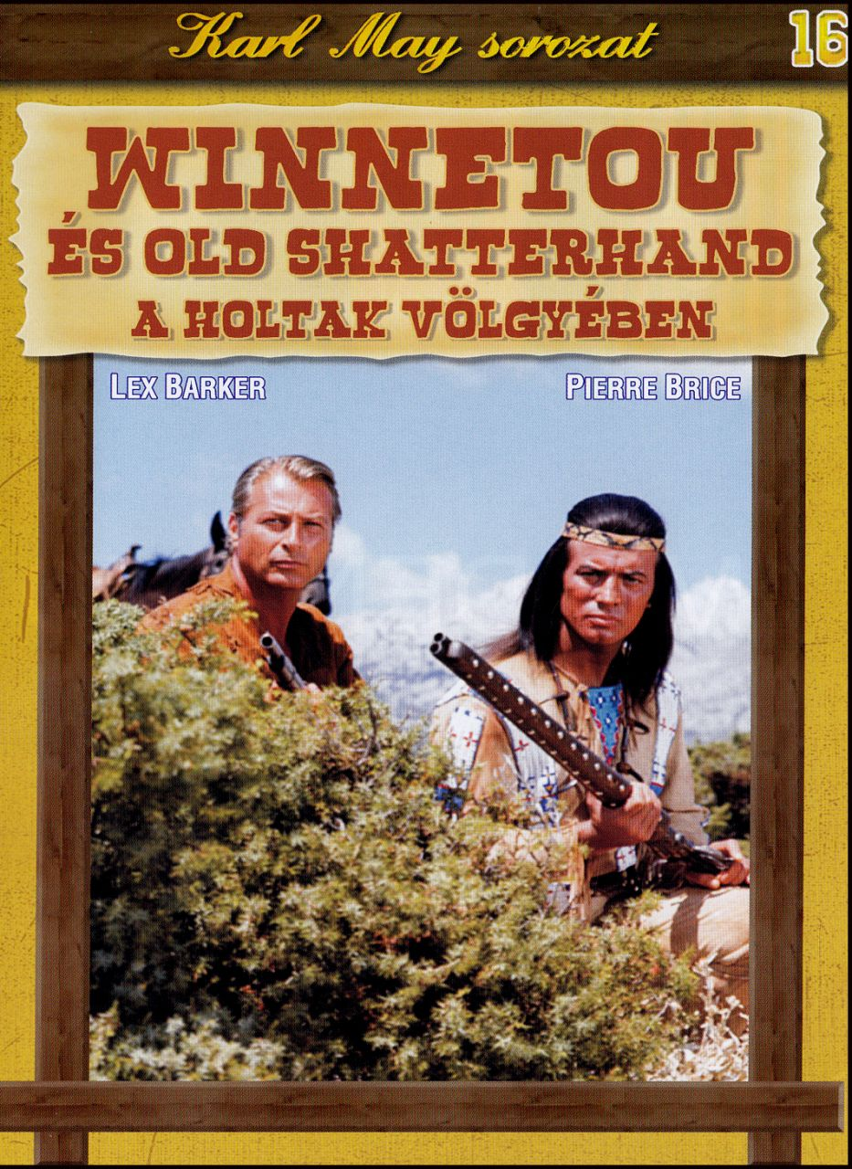 Karl May sorozat Winnetou és Old Shatterhand 16. (DVD)