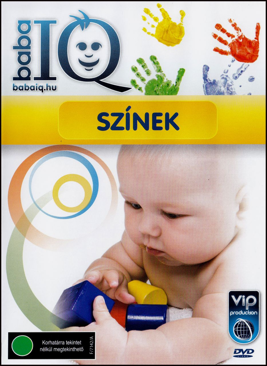 Baba IQ Színek (DVD)