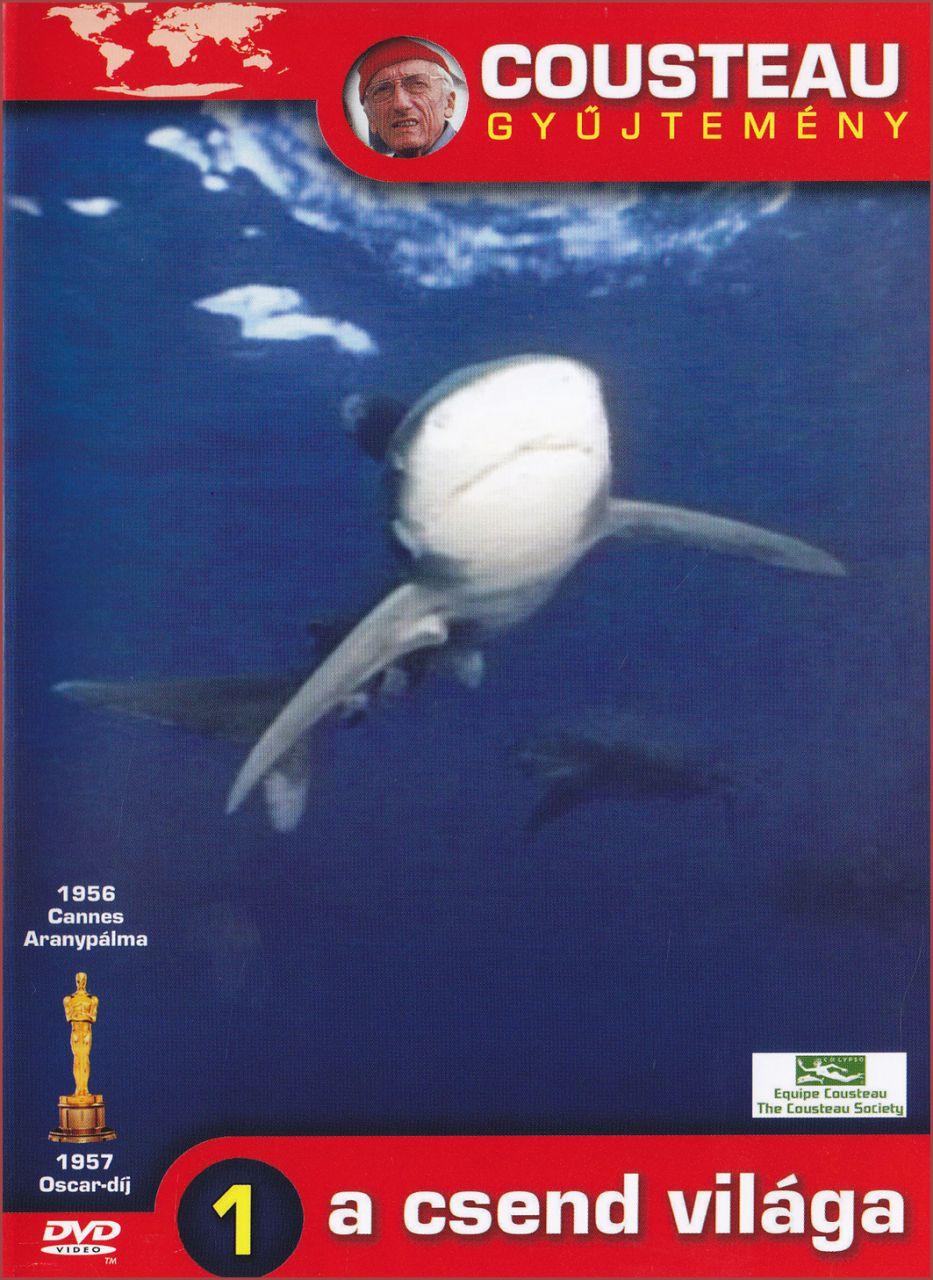 Cousteau gyűjtemény A csend világa 1. (DVD)