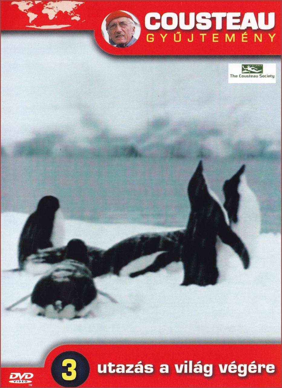 Cousteau gyűjtemény Utazás a világ végére 3. (DVD)