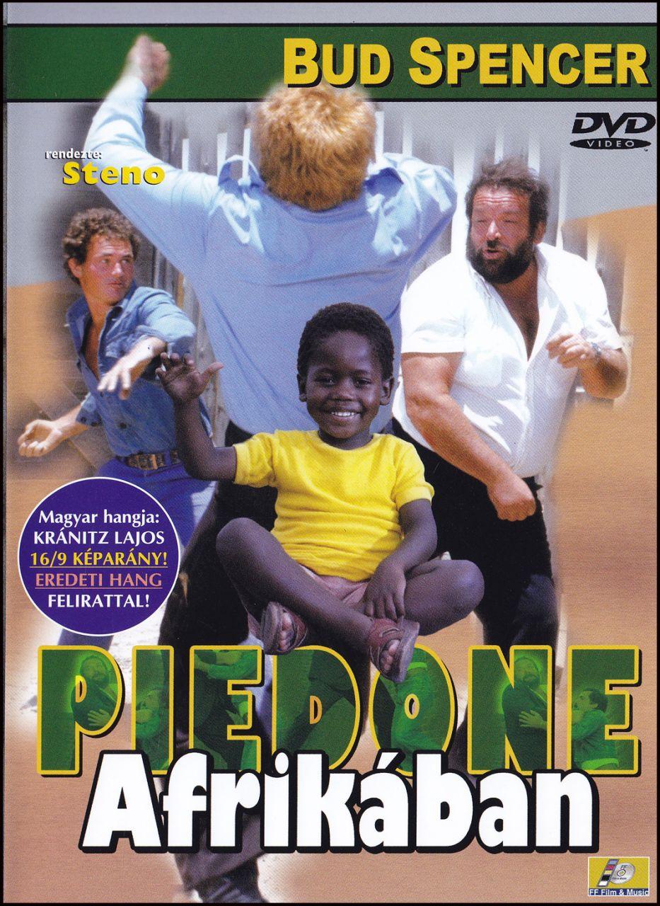 Bud Spencer Piedone Afrikában (DVD)