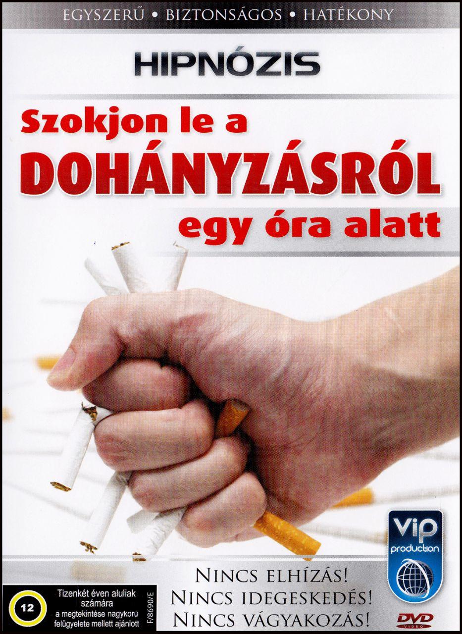 Hipnózis Szokjon le a dohányzásról egy óra alatt! (DVD)