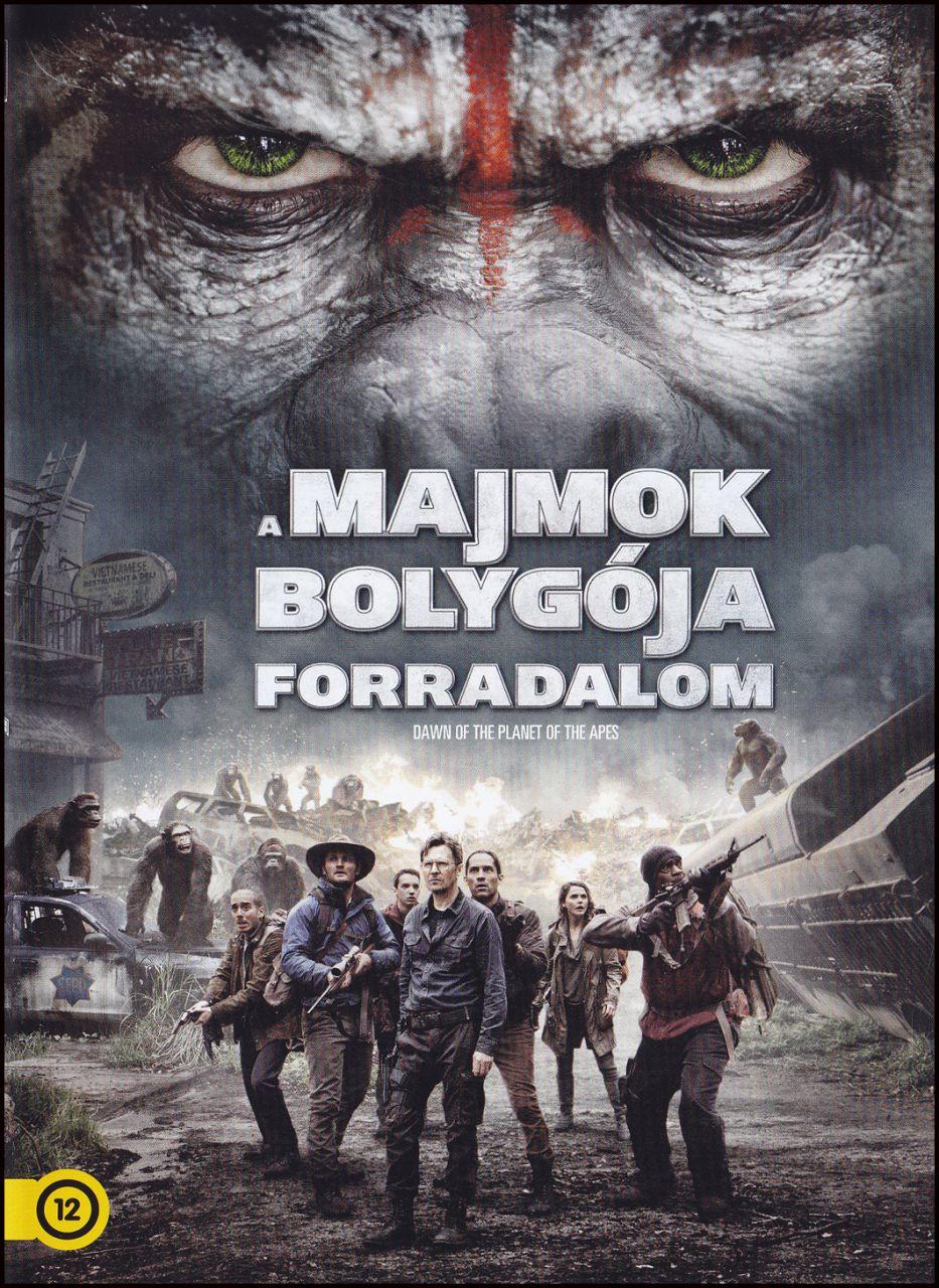 A majmok bolygója Forradalom (DVD)