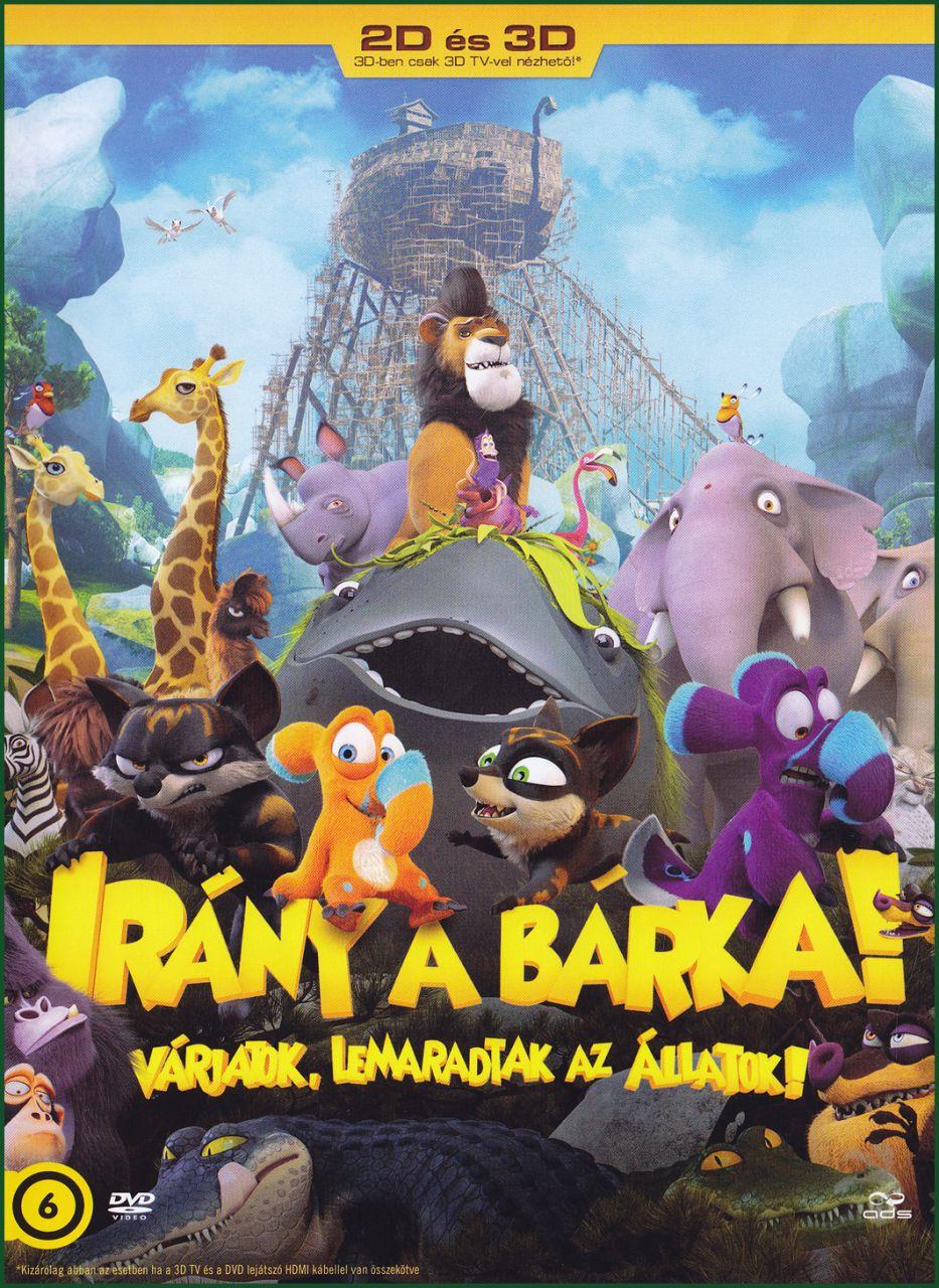 Irány a bárka! Várjatok, lemaradtak az állatok! (DVD)