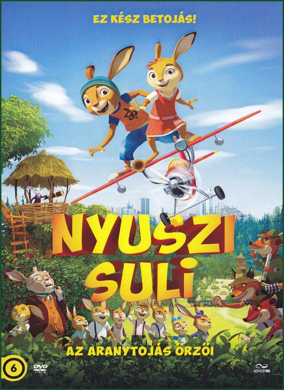 Nyuszi suli Az aranytojás őrzői (DVD)