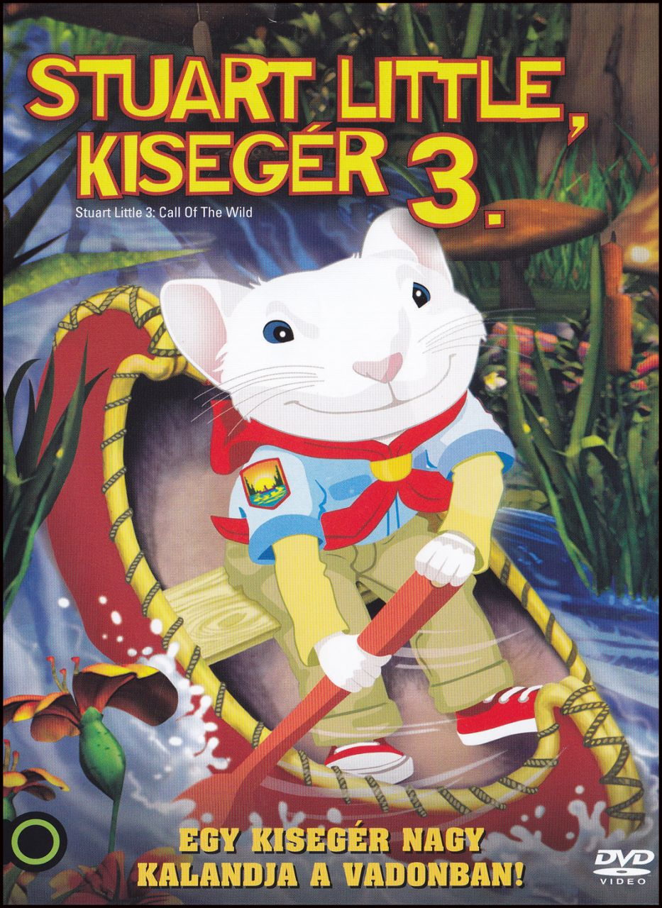Stuart Little, kisegér 3. (DVD)