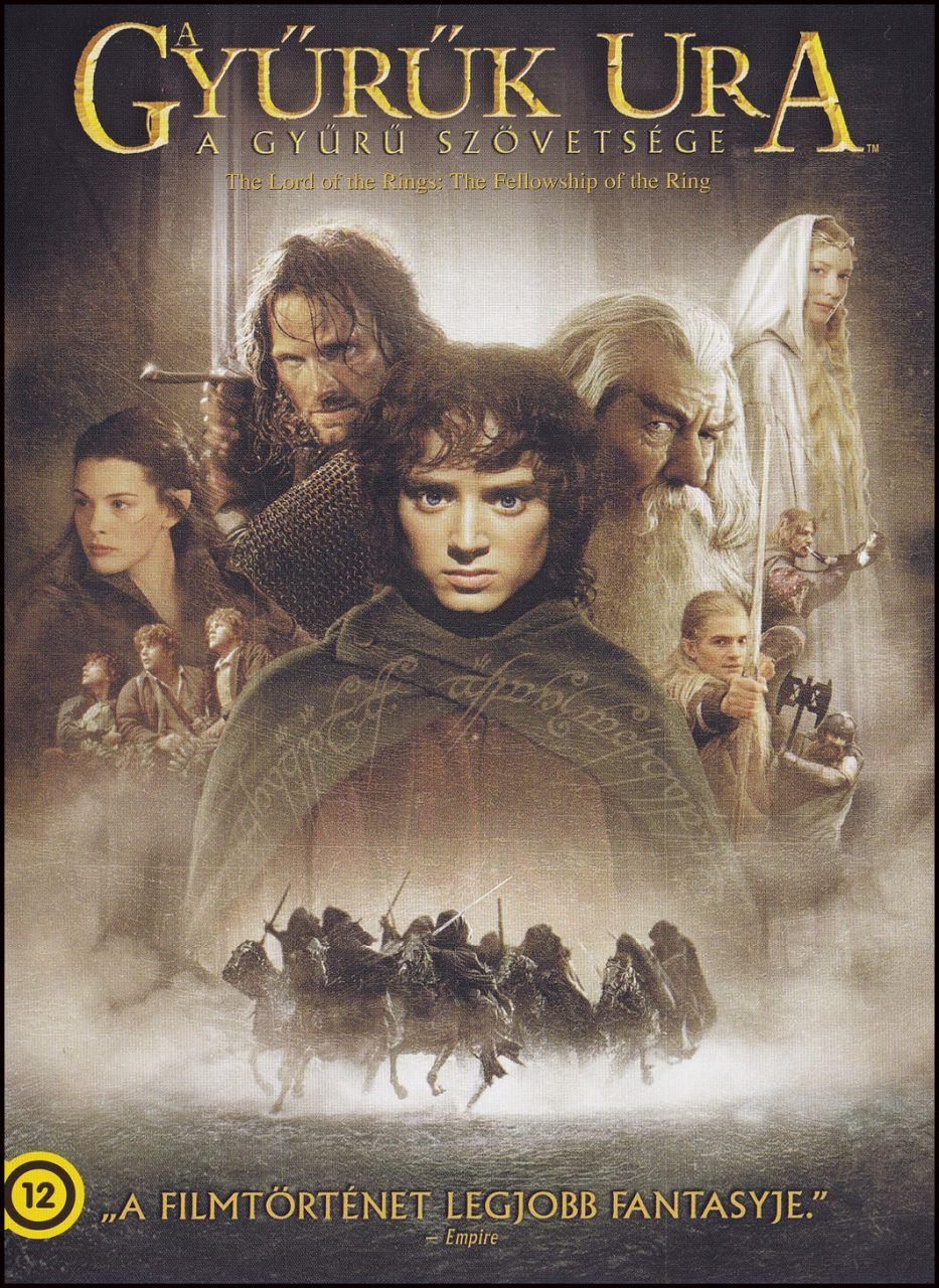 A gyűrűk ura: A Gyűrű Szövetsége (DVD)