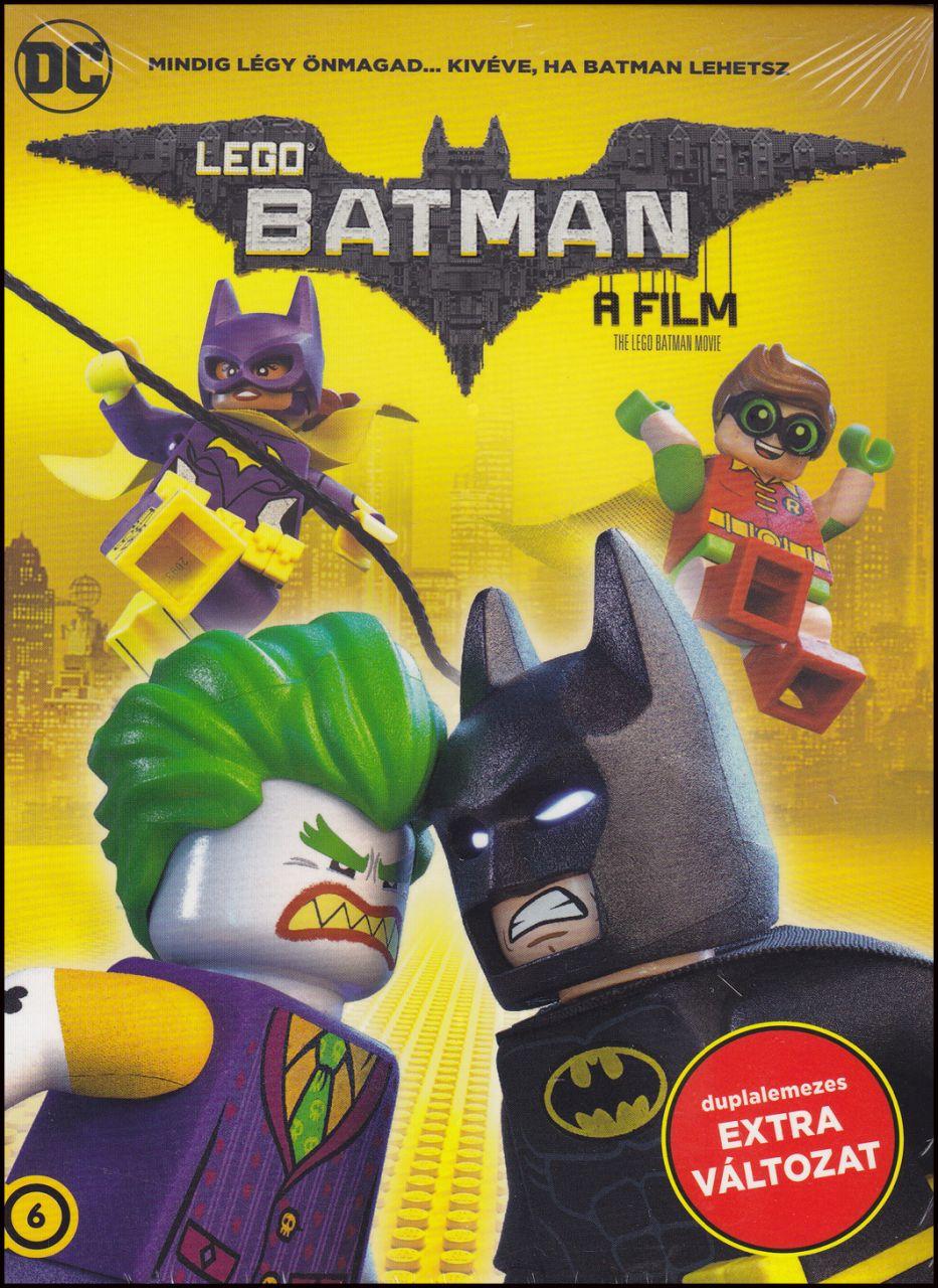 Lego Batman: A film duplalemezes változat (DVD)