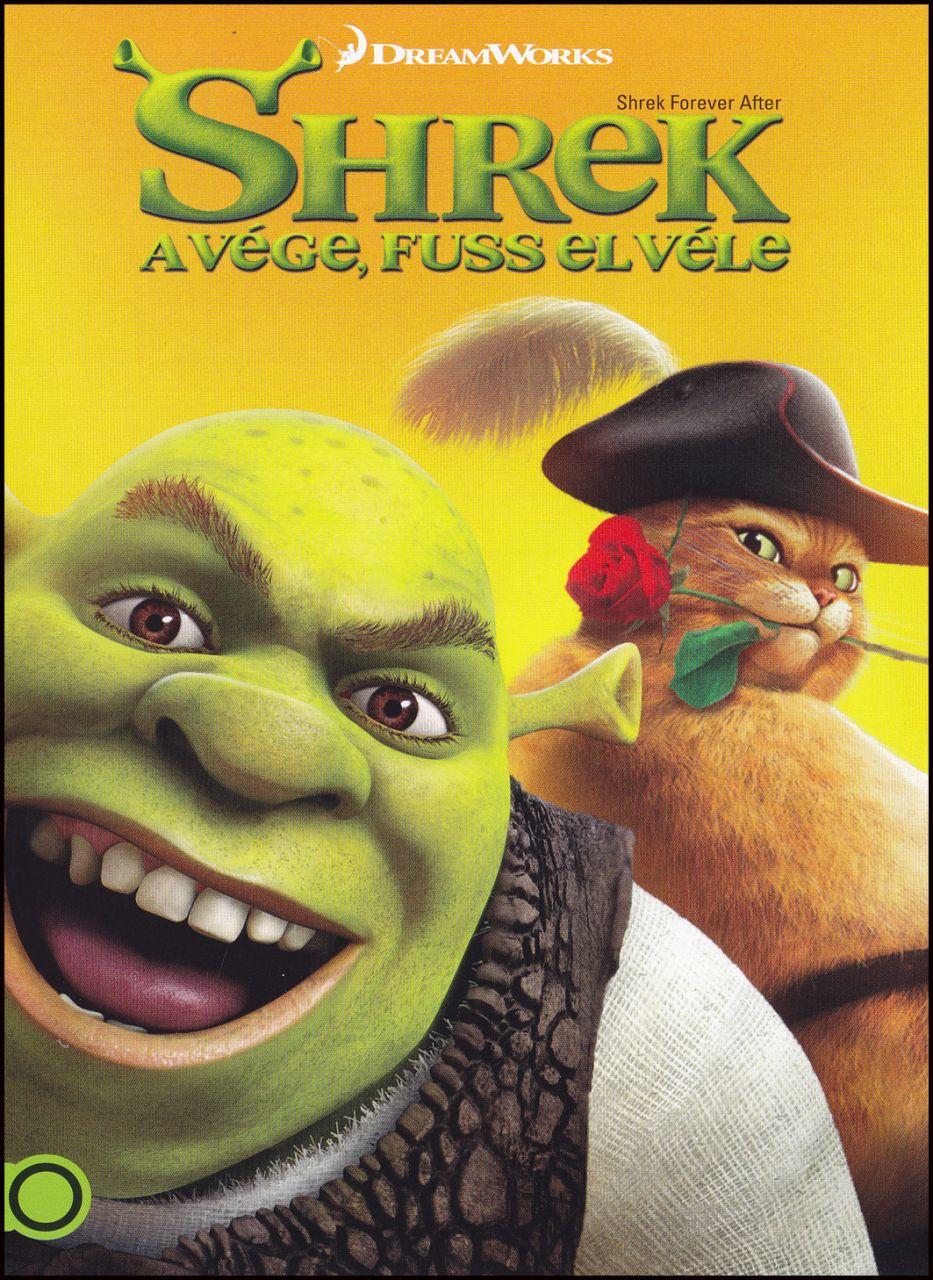 Shrek a vége, fuss el véle (DVD)